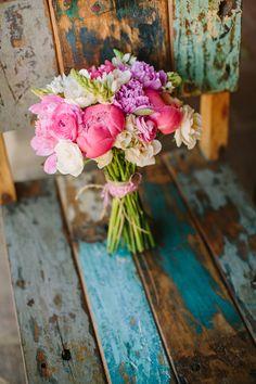 Flower arrangement from Michaela Noelle Designs