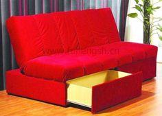 Lounger Sofa Bed | New Modern Style, Hotel Futon Sofa bed, Click-clack Lounger Sleeper ...weiku.com