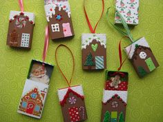 Gingerbread House Ornaments | Flickr - Photo Sharing!