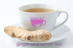 ginger and lemon well being herbal tea | mama tea