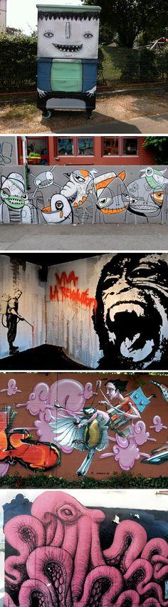 Grafites efêmeros II