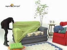 Αποτέλεσμα εικόνας για como fazer capa de sofá Couch, Furniture, Youtube, Home Decor, Couch Slipcover, Cape Clothing, Settee, Decoration Home, Sofa