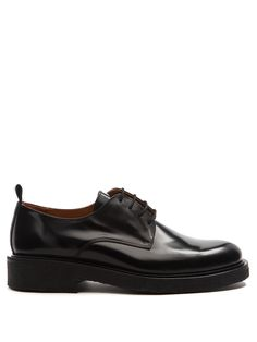 Leather derby shoes | AMI | MATCHESFASHION.COM