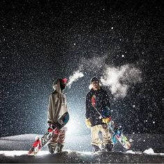 night skiing is coming to Steamboat- say what? Skiing at night, you cray.