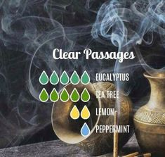 Clear Passages Essential Oils Diffuser Blend ••• Buy dōTERRA essential oils online at www.mydoterra.com/suzysholar, or contact me suzy.sholar@gmail.com for more info.