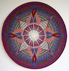 Ravelry: sriyana's SnakeCharm Mandala Tapestry