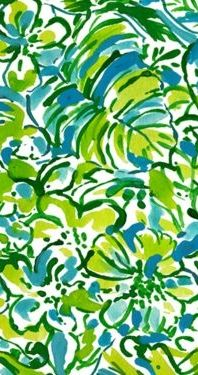 Lilly Pulitzer Print Story: Green Parrot