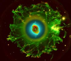 O halo da nebulosa Olhos de Gato - Crédito da Imagem: R. Corradi (Isaac Newton Group), D. Goncalves (Inst. Astrofisica de Canarias)