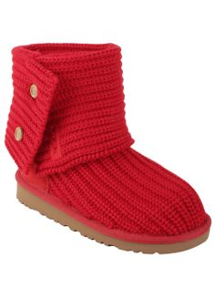 UGG® Australia Youth Classic Cardy in Ribbon Red #UGG for Adriana! :)