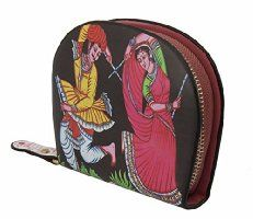 Jstarmart Navaratri Small Wallet Clutch Pouch For Women