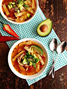 Soups - Bean / Mexican on Pinterest | Lentil Soup, Lentils and Chicken ...