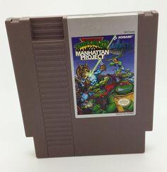 Teenage Mutant Ninja Turtles III the Manhattan Project (NES)