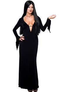 Click Image Above To Buy: Sexy Morticia Addams Costume - Addams Family Costumes Family Costumes, Adult Costumes, Costumes For Women, Buy Costumes, Fantasy Costumes, Halloween Fancy Dress, Halloween Kostüm, Halloween Costumes, Group Halloween