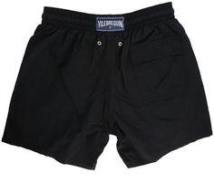 8c56860a09952 VILEBREQUIN Plain Black Moorea Swim Shorts