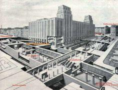 U-Bahnhof Hermannplatz in den 20ern