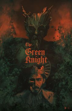 Cool Posters, Film Posters, Series Movies, Film Movie, Green Knight, Knight Art, Love Movie, Dark Souls, Illustrations And Posters