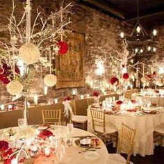 centros de mesa rojos para boda - Buscar con Google