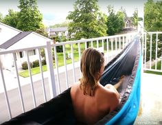 The Hydro Hammock with portable water heater allows you to take a hot tub anywhere anytime.