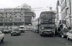 Dublin Bus 'D757' by 'Longreach' by Jonathan McDonnell, via Flickr Dublin Street, Buses And Trains, Shopping Center, Old Photos, Ireland, Street View, City, Pictures, Centre