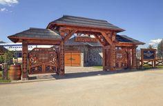 Nestville Park, Stará Ľubovňa Gazebo, Outdoor Structures, Park, Kiosk, Pavilion, Parks, Cabana