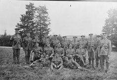 Canadian Military Police, Corps Headquarters. August, 1916