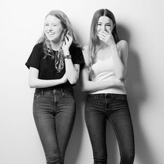 I love it when people come into the studio full of life and laughter.  Libby and Alex - they're sisters if you hadn't worked it out - certainly did that: I think we were trying to take well a SERIOUS image and look how that worked out for me! Ha!  Still laughter as they say is the best medicine! #bestportraits #portraiture_inspirations #loves_portrait #portraitoftheday #humanpeoplemagazine #postmoreportraits #ae_bnw #bnw_society #blacknwhite_perfection #bnwsouls #bnw_demand #bw_mania…