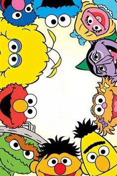 Sesame street on We Heart It Elmo wallpaper Cartoon wallpaper Cartoon wallpaper iphone