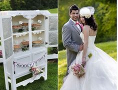 Pie Chest - very weddingy Serve at wedding or rehearsal dinner Cedarwoodweddings.com featured on StyleMePretty.com