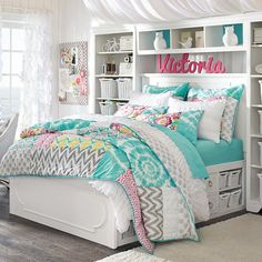dream rooms for girls teenagers - dream rooms . dream rooms for adults . dream rooms for women . dream rooms for couples . dream rooms for girls teenagers . dream rooms for adults bedrooms Cute Bedroom Ideas, Awesome Bedrooms, Cool Rooms, Tween Girl Bedroom Ideas, Bedroom Inspiration, Tween Beds, Teen Bedroom Colors, Dream Rooms, Dream Bedroom