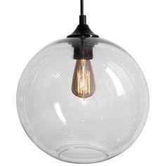 Hanglamp retro transparant Edison (Lampen en Armaturen Verlichting per ruimte Woonkamerverlichting)