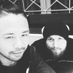 "5,947 Likes, 45 Comments - Aleister Black (@aleister_black) on Instagram: ""Shinshin @shinsukenakamura"""