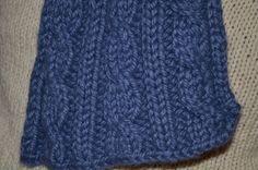 Découvrez comment tricoter une écharpe