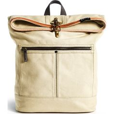 STATE Bags Smith Foldover Backpack   Stone from Sportique