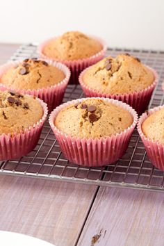 8 ingredient garbanzo flour chocolate chip muffins! dairyfree #glutenfree