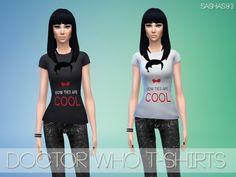 Sashas93: 4 t-shirts • Sims 4 Downloads
