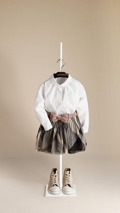 Check Lined Cotton Shirt | Burberry
