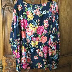 Selling this Stunning Chaps silky floral top 3x NWT in my Poshmark closet! My username is: discogal. #shopmycloset #poshmark #fashion #shopping #style #forsale #Chaps #Tops
