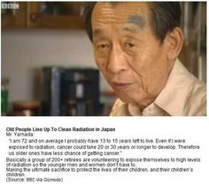 The heart is a muscle - the more you use it, the stronger it grows. The hearts of these elderly people in Japan must've had a lot of excercise over the years <3