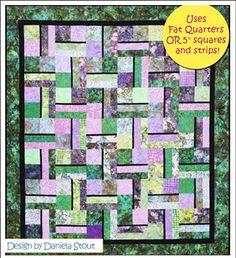 Quilt Pattern - Cozy Quilt Designs - Snap & Pops