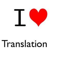 I love translation!!!!