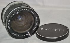 SOLIGOR 28mm F/2.8 SLR Camera Lens with Bayonet Fit