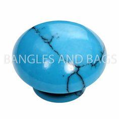 Kameleon Jewelry - Crack Turquoise Pop Rock - KJPS12