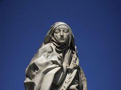 St. Catherine of Siena   http://www.saintnook.com/saints/catherineofsiena - File:Borgo - monumento a santa Caterina di Francesco Messina 1961-2.jpg