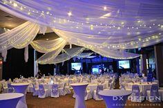 rideaux et draps de plafond plusieurs couleurs et dimensions - Drap Plafond Mariage