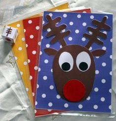 """Résultat de recherche d'images pour """"χριστουγεννιατικες καρτες στο νηπιαγωγειο"""""""