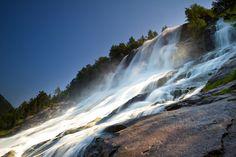 Furebergsfossen waterfall, Norway by Bard Larsen
