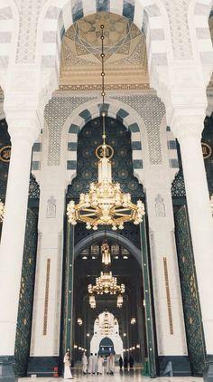 Masjid e Nabwi Islamic Wallpaper Iphone, Quran Wallpaper, Mecca Wallpaper, Islamic Quotes Wallpaper, Masjid Haram, Mecca Masjid, Mecca Islam, Medina Mosque, Mosque Architecture