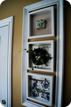 Decorating a wall for all seasons -- Spring Specimen Wall Art!