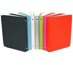 Colorful binders will brighten up your day and keep notes organized | www.russellandhazel.com