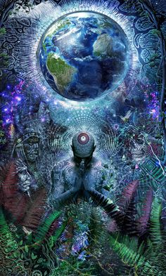 Gratitude For The Earth And Sky - Official Page of Visionary Artist Cameron Gray
